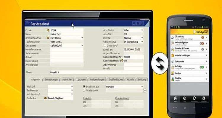 Neue mobile Lösung für den technischen Außendienst mit SAP Business One