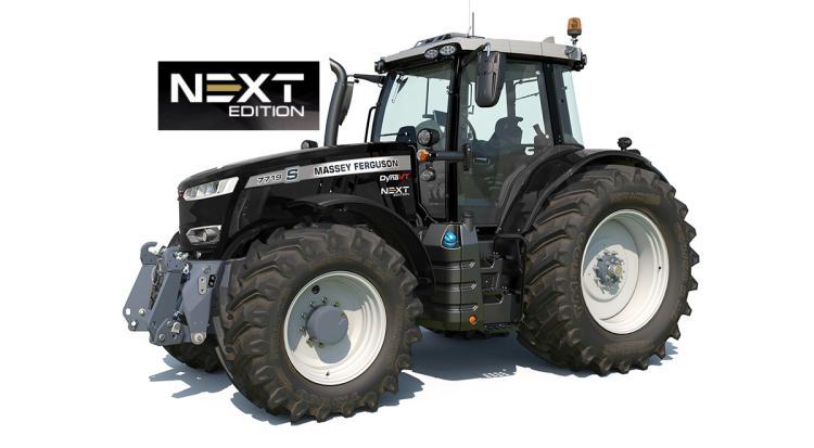 MF traktor