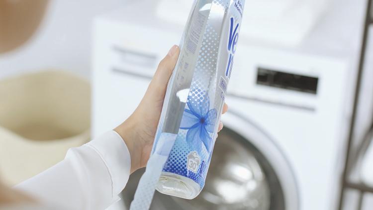 újrahasznosított műanyag