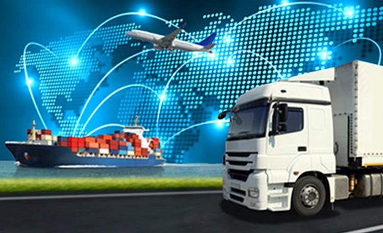 logisztikában digitalizáció kamion repülőgép hajó
