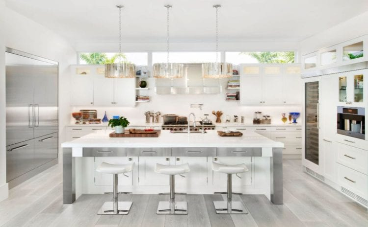 white color kitchen