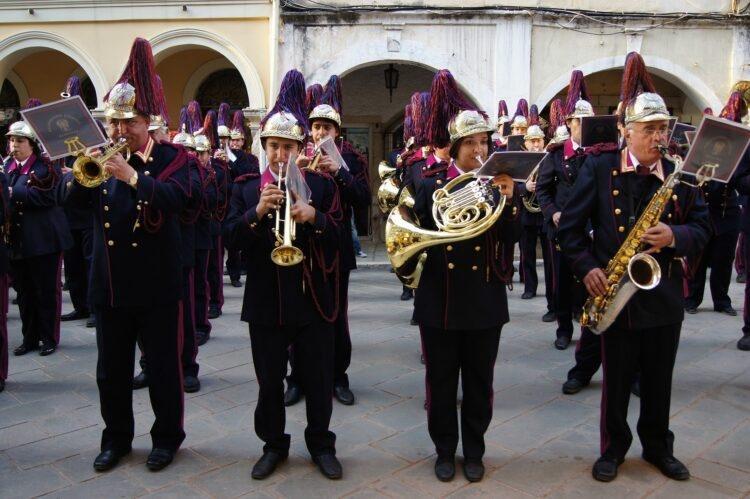 orkiestra filharmoniczna na Korfu