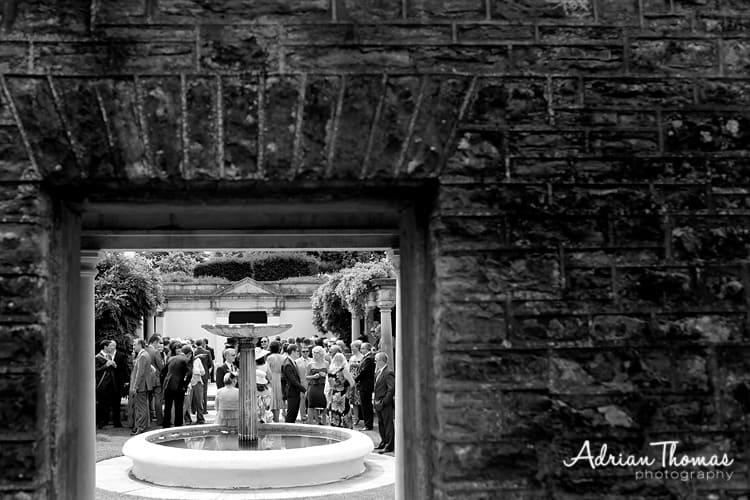 Dyffryn House Gardens guests awaiting bride