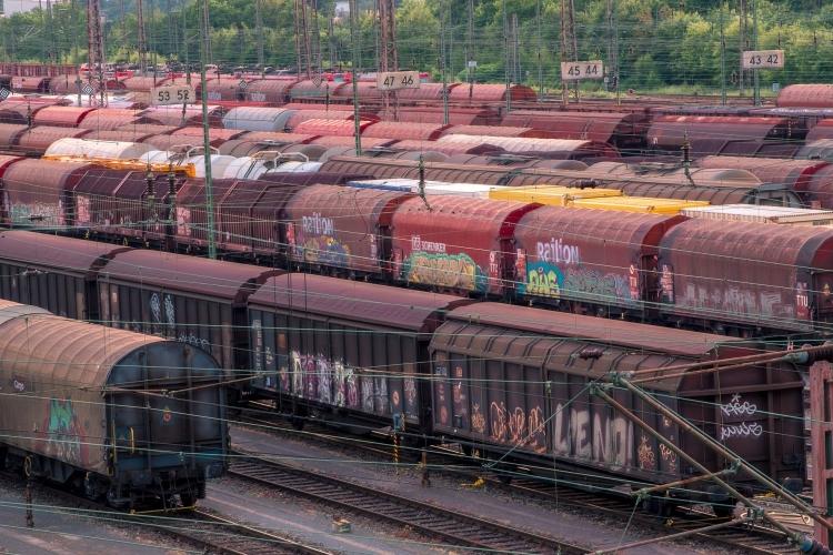 vasút áruszállítás
