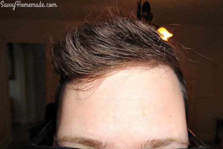using the natural hair clay