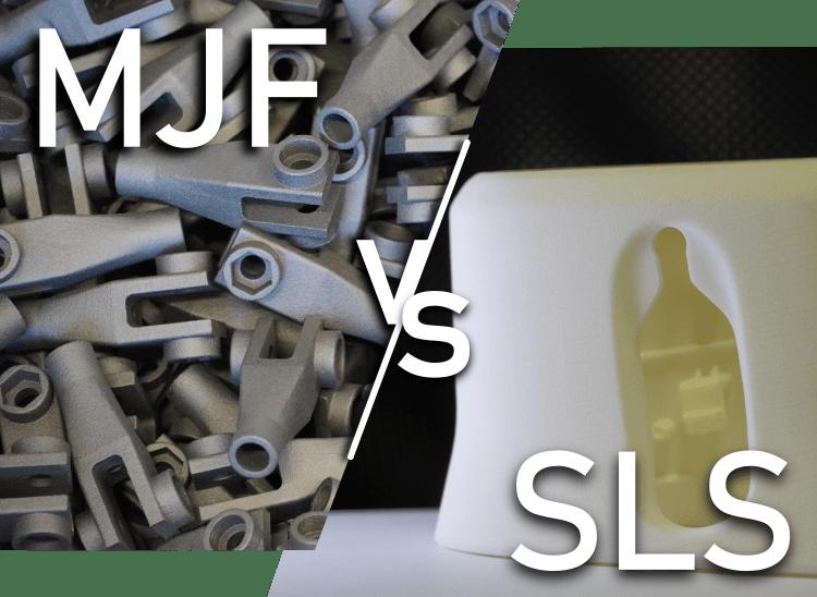 Vergleich MJF zu SLS