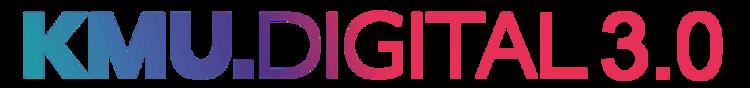 Logo der KMU Digital 3.0 Digitalisierungsoffensive