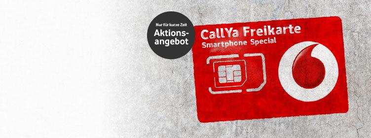 Vodafone CallYa Freikarten kostenfrei anfordern 1