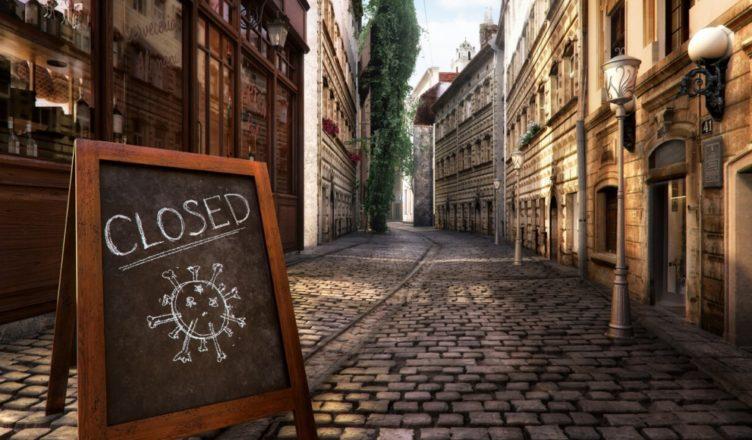 Comercio cerrado por COVID-19