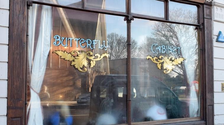 Butterfly Cabinet Heaton