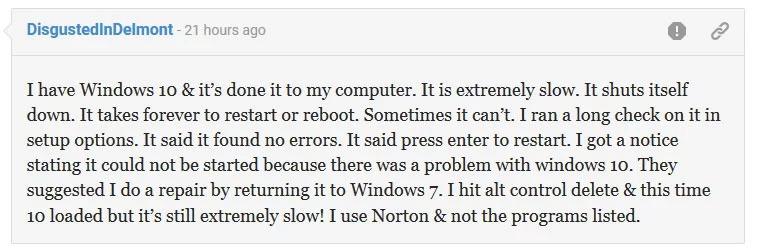 Windows 10 lento
