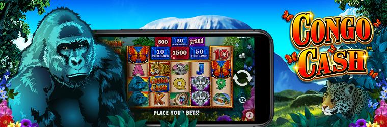 Congo Cash slot maskine