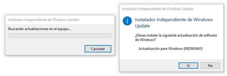 """busqueda actualizacion Microsoft """"KB2693643"""" Administración Remota RSAT"""