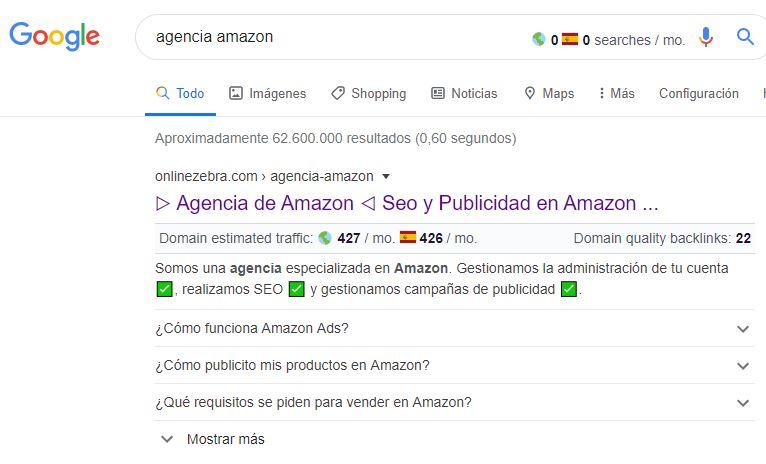 Agencia Amazon Faqs