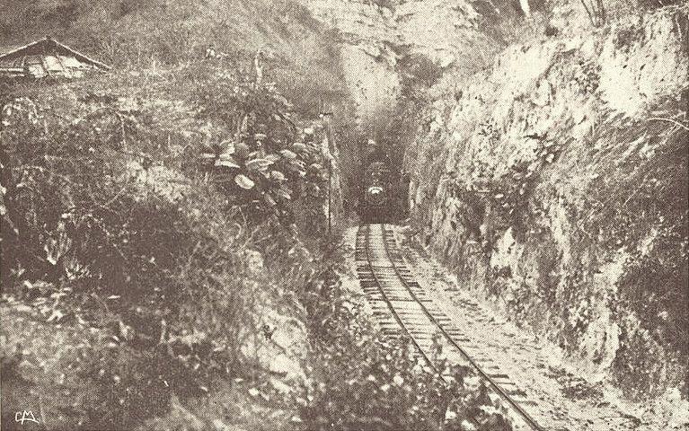 Túnel en el Ferrocarril del Norte