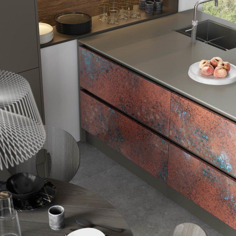 Ferro Oxidized Copper and Rezana Espresso Oak_Cameo 2