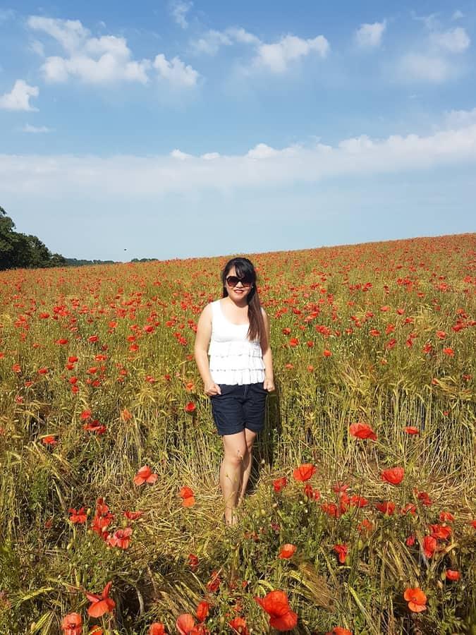 Poppy Fields in Worcestershire