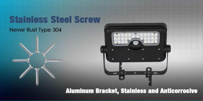 Solarmate LED Light - Flood 5W Anti-Rust Screws