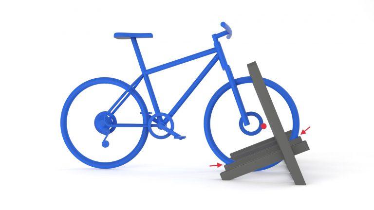 Urbania Fahrradständer IKS 3