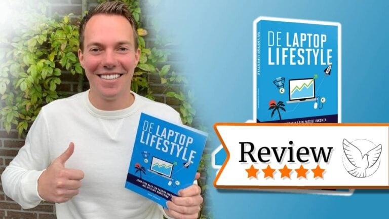 Laptop lifestyle boek van Jacko Meijaard review cover