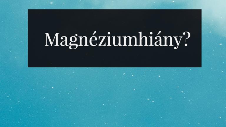 magnéziumhiány 7 csoport
