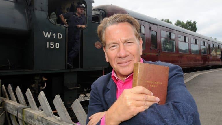 Great British Railway Journeys Micheal Portillo Trains