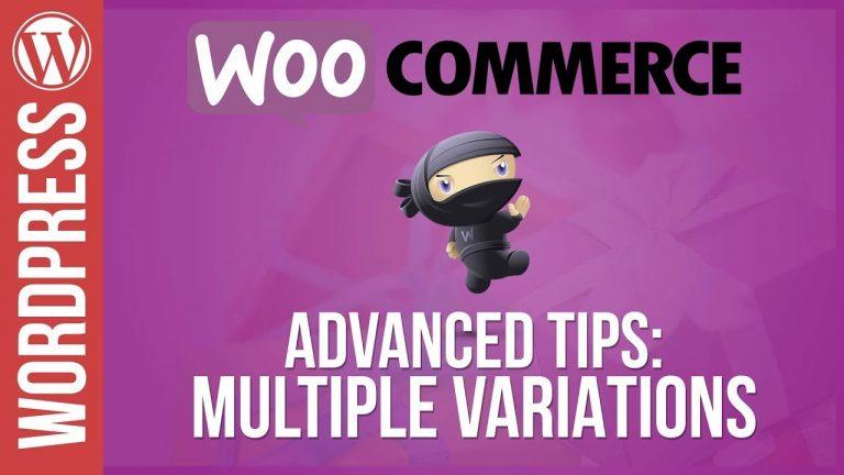 WooCommerce: Advanced Variations Tutorial