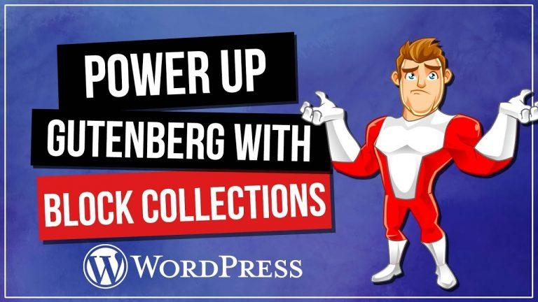 Gutenberg WordPress Tutorial – Blocks Add-On's