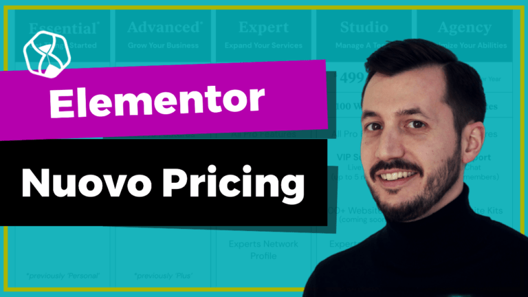 Elementor - Nuovo Pricing 2021 - Lifetime Deals Italia