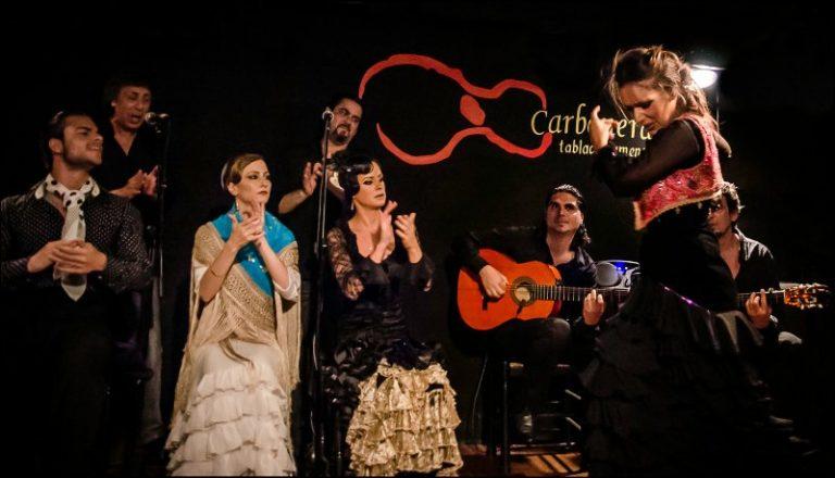 Spettacolo Flamenco a Madrid Las Carboneras