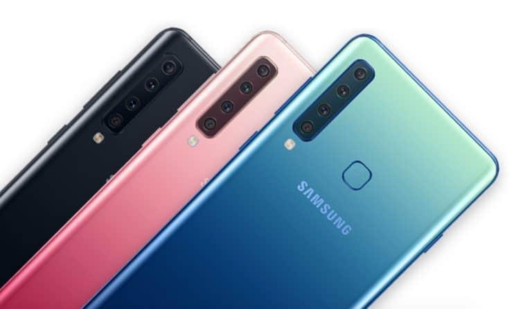Android 10 no Galaxy A9