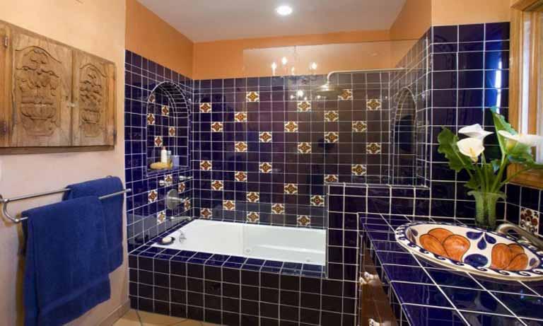 Как выбирают плитку для ванной