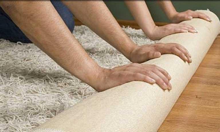 Укладываем ковролин своими руками поверх старого покрытия