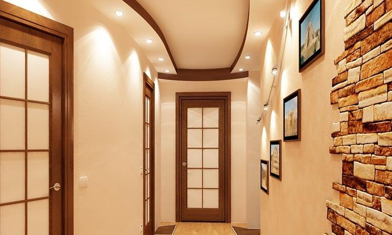 Ещё вариант освещения прихожей в квартире