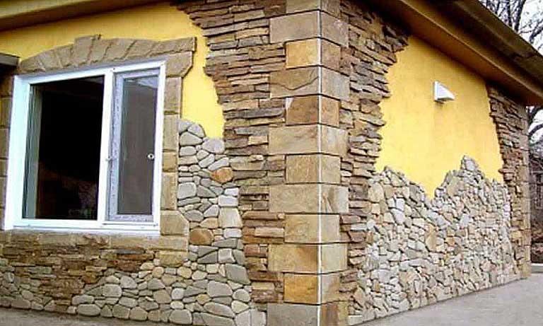 Ещё один пример правильного выбора декоративного камня для фасада