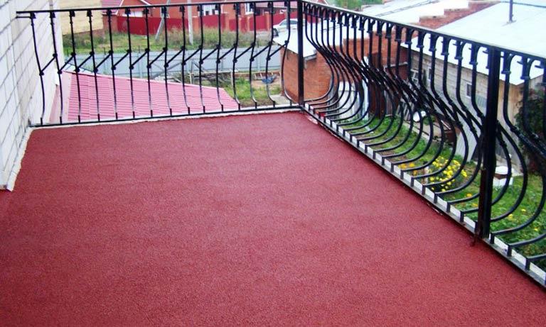 Резиновую краску можно использовать не только внутри помещений но и на улице