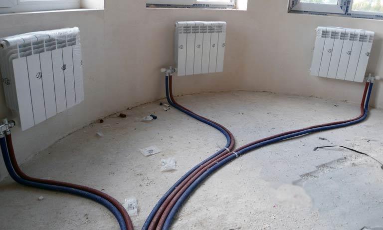 Лучевая разводка отопления в квартире или частном доме
