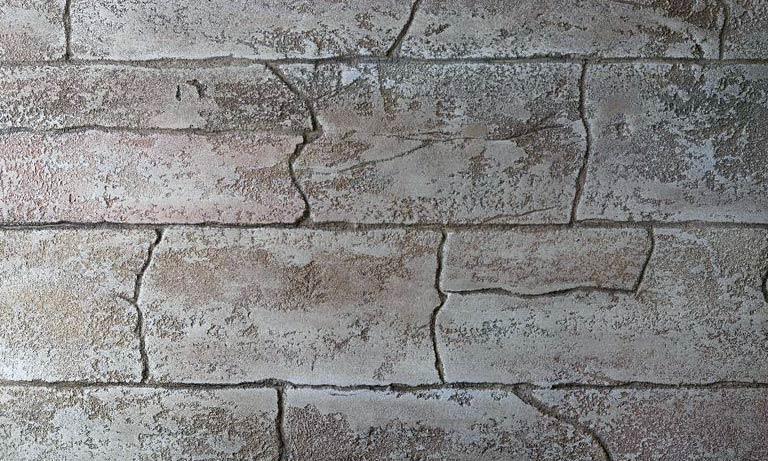 Штукатурка эффектом камня травертин