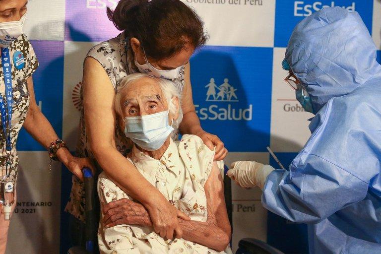 Perú vacunas.