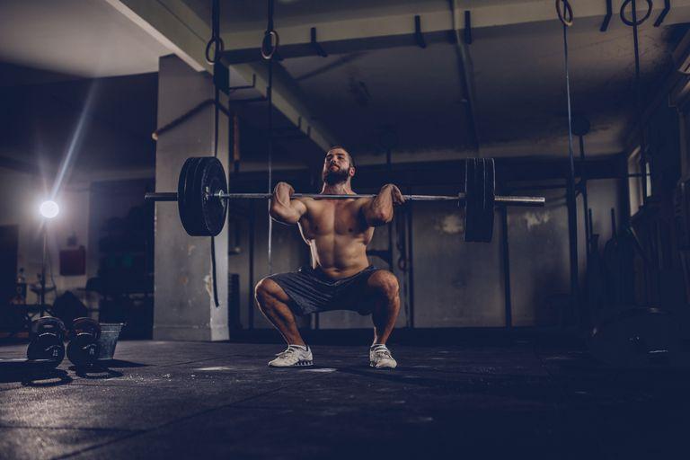 podrzut sztangi ćwiczenie olimpijskie