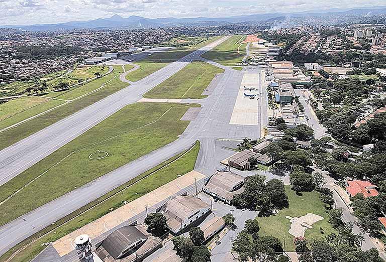 Governo lança consulta para a concessão do Aeroporto da Pampulha