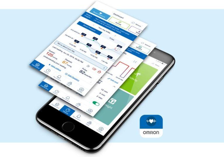 OMRON HEartGuide app