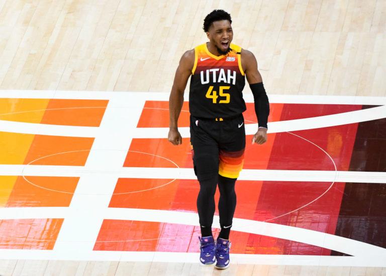 Donovan Mitchell, jugador del Utah Jazz