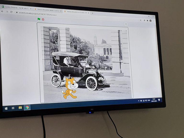 Curs de programare pentru copii de IOTESA Kids la After School Adventures Timișoara - săptămâna vehiculelor1