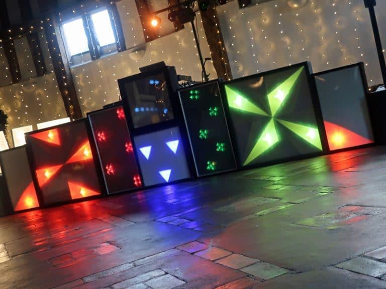 Retro disco setup