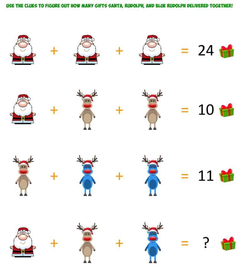 Santa Christmas Gifts Challenge 1