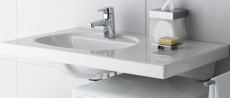 Ванная комната дизайн фото для маленькой ванны со стиральной машины.