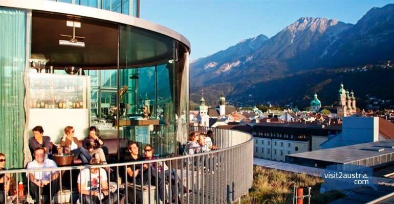 Панорамный ресторан Инсбрука