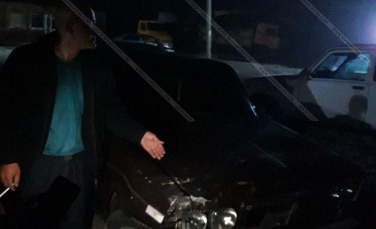 ՖՈՏՈ. Արտակարգ դեպք Արագածոտնի մարզում. գյուղապետի եղբայրը մեքենան քշել է մարդկանց վրա
