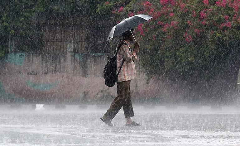 Disminuyen las lluvias.